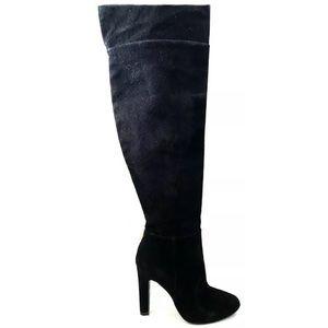 Joie Bentlee Women's Black Suede Thigh High Boots